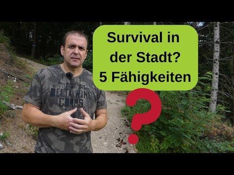 Survival in der Stadt - 5 Fähigkeiten?