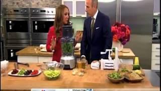 Today Show - Peggy K's Zucchini Linguini & Quinoa Cookies