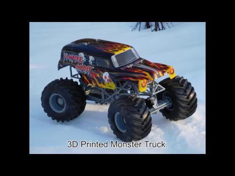 3d Printed Rc 1 12 Monster Truck Youtube
