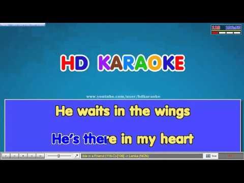 Trouble is a Friend [cut] karaoke