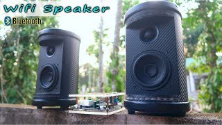 DIY Bluetooth & Wifi Speaker