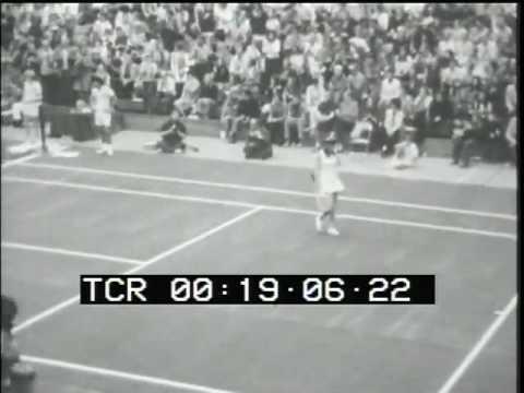 Rosie Casals vs Francoise Durr Long Beach 1972