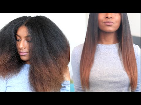 how i straighten my hair how i straighten amp trim my hair naturalneiicey 31070