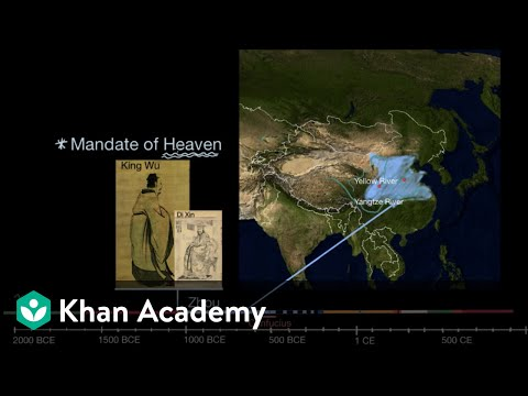 Zhou, Qin and Han Dynasties | World History | Khan Academy
