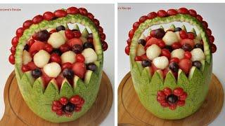 গায়ে হলুদের ফলের ডিজাইন/ফলের ডিজাইন/তরমুজের ডিজাইন/Fruit Decoration/Fruit Carving/Watermelon Design