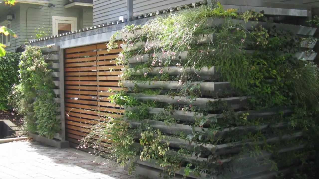 Portland Gutter Garden Youtube