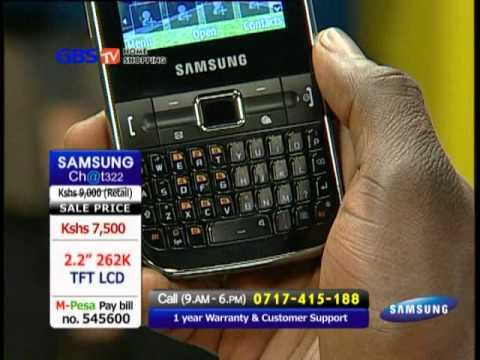 Samsung Chat 322