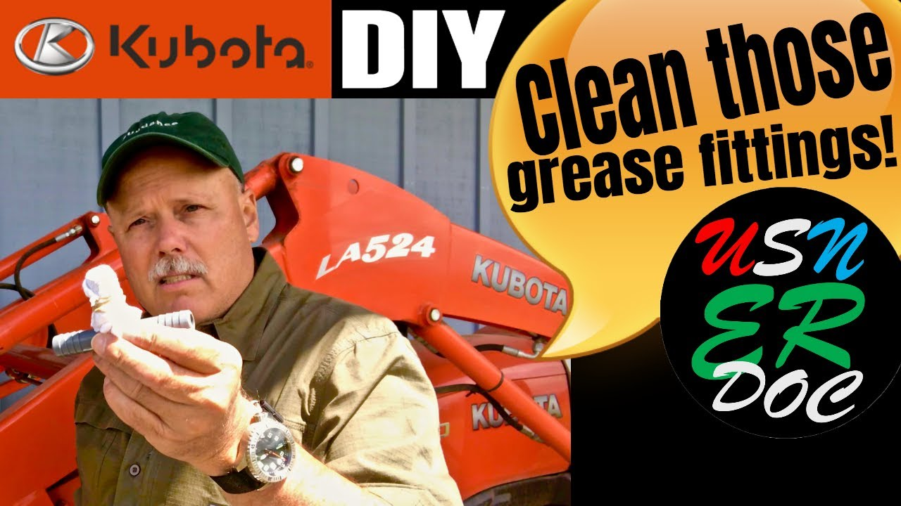 Grease Fitting Cleaner