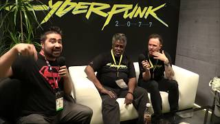 Cyberpunk 2077 - Angry Interview E3 2918!