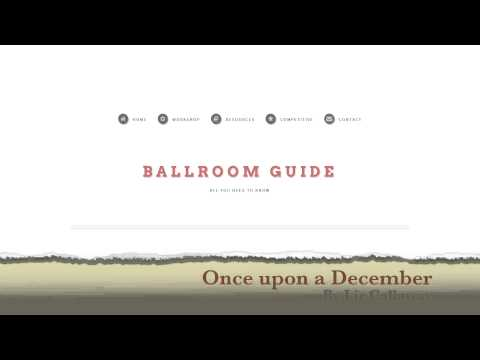 Viennese Waltz Music: Once upon a December by Liz Callaway