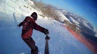 видео Встречаем Новый год на лыжах: ТОП-10 горнолыжных курортов России
