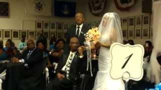 Giving Myself Over Bride Sings to Groom