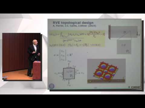 "Javier Oliver, ""Computational design of engineering materials..."""