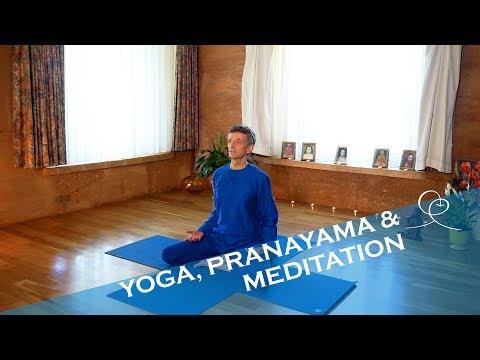 Yoga, Pranayama & Meditation ~ 30 Min Routine