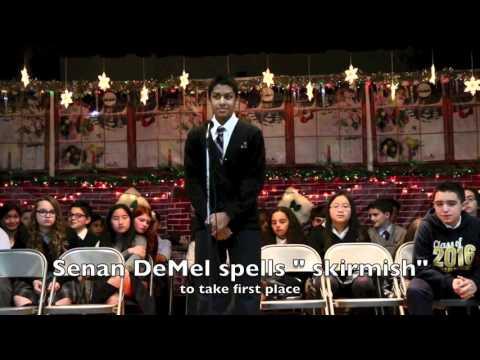 The winning word of the 2015 Staten Island Regional Catholic Schools Spelling Bee