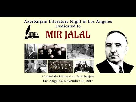 Azerbaijani writer Mir Jalal's literary legacy presented in Los Angeles