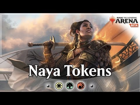 Naya Heroic Tokens - TwitchRivals Tournament  - Bo3 and Bo1 Gameplay and Deck Guide