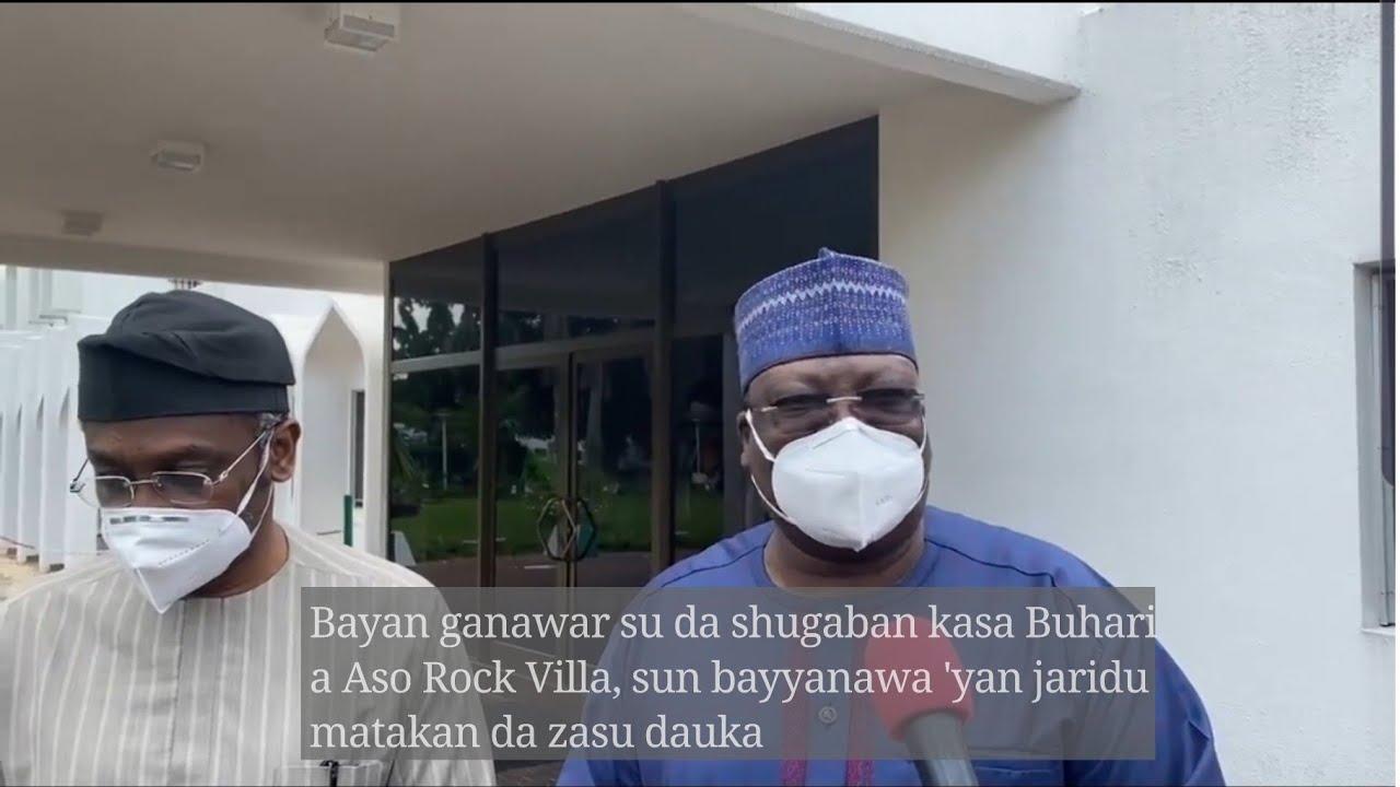 Download Bayan fitowa Villa Sanata Ahmed Lawan ya fadi matakan da zasu dauka akan masu zanga-zanga a Najeriya