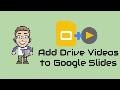 How to Insert Google Drive Videos into Slides