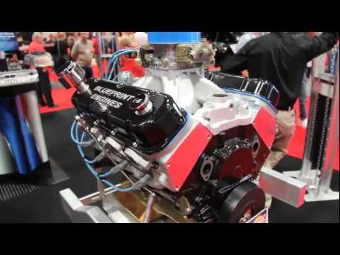 BluePrint Engines offers low price high value Big Blocks and Cylinder Heads at SEMA 2012