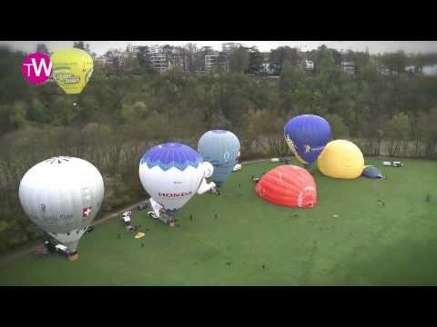 An original communication tool for Parmigiani Fleurier: hot air balloon
