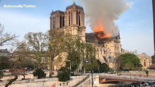LIVE: Notre Dame Cathedral Fire in Paris