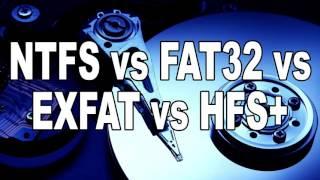 Tech Tips | NTFS vs FAT32 vs ExFAT vs HFS+