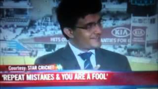 Greg Chappel Is Stupid - Sourav Ganguly