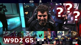 Fnatic vs Rogue | Week 9 Day 2 S9 LEC Summer 2019 | FNC vs RGE W9D2