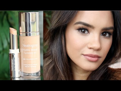 NEW! NEUTROGENA HYDRO BOOST TINT AND CONCEALER!