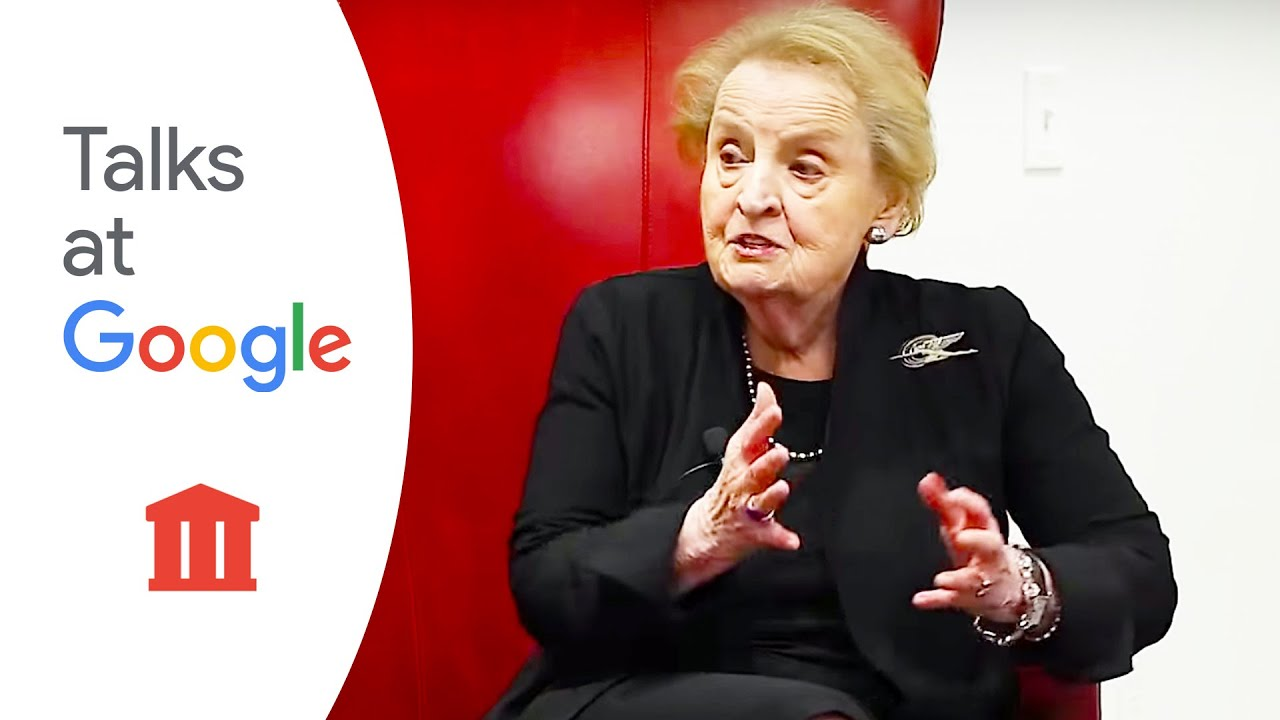 Madeleine Albright_ 'Globalization is not a four-letter word'