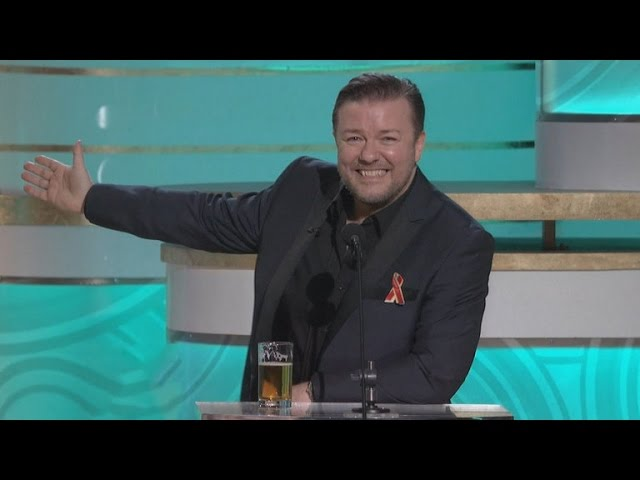 Ricky Gervais' Most Offensive Golden Globes Moments