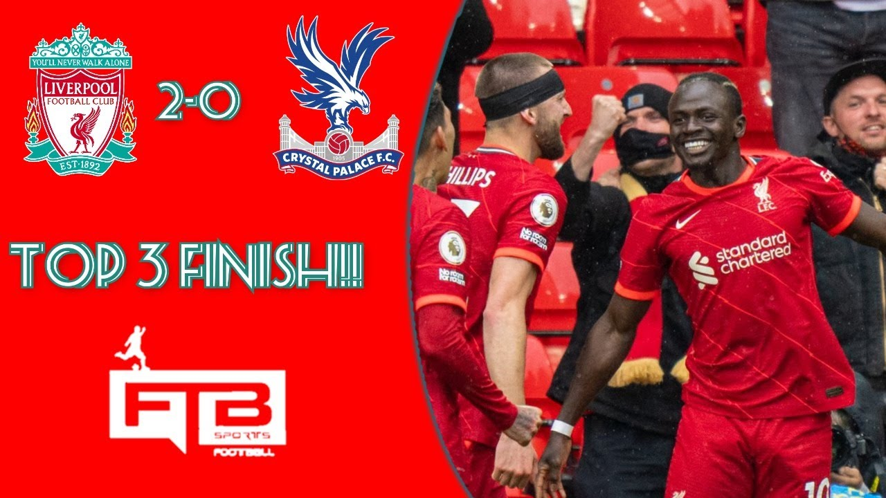 Download LFC Make Champions League Place!| Liverpool Vs Crystal Palace Reaction
