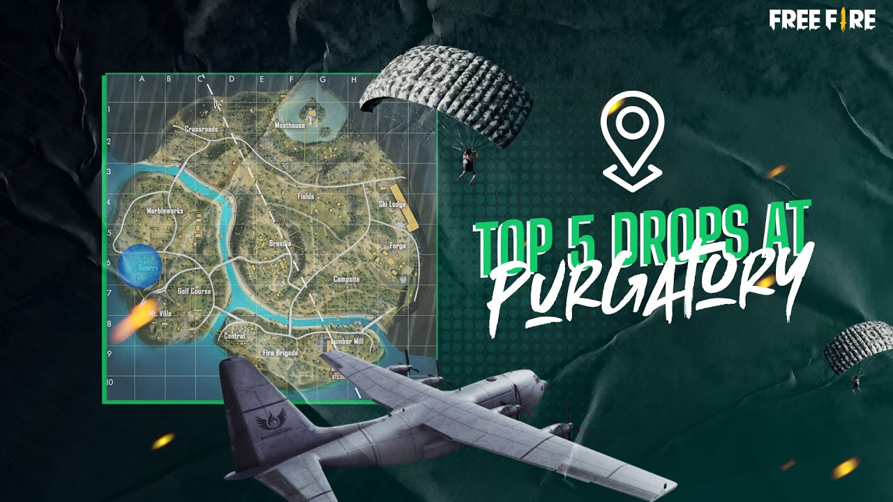 Top 5 Drops at Purgatory | Free Fire Book #3