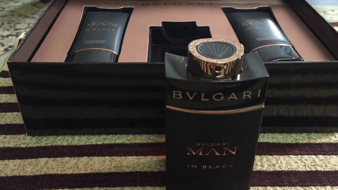 8ad454fdeb Bvlgari Man In Black EDP by BVLGARI unboxing and review - YouTube