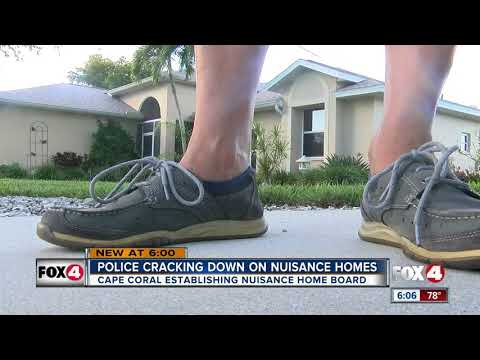 Cape Coral cracking down on nuisance homes