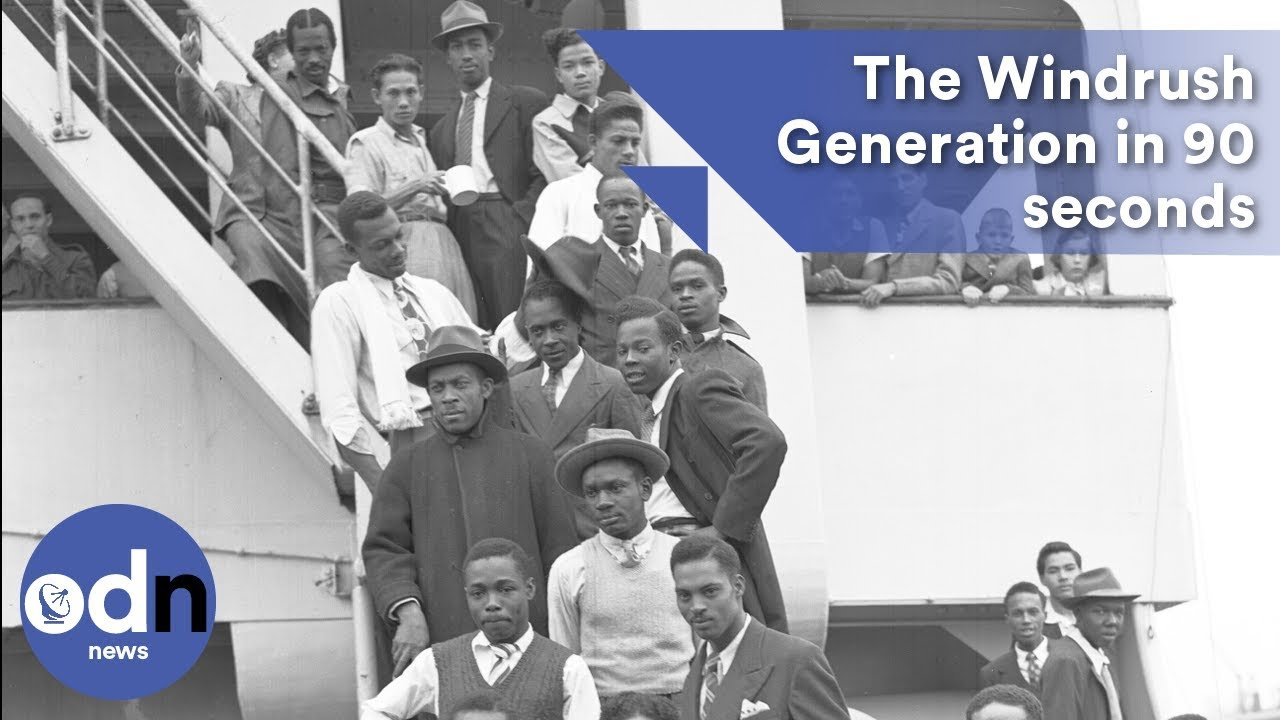 the windrush generation explained in 90 seconds youtube. Black Bedroom Furniture Sets. Home Design Ideas