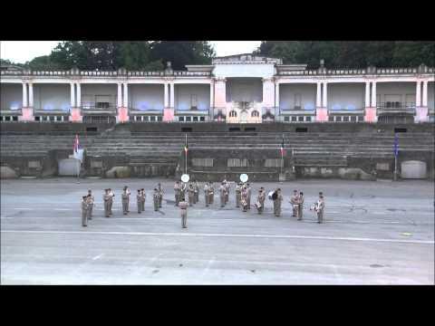 la Musique de l'Infanterie Française de Lyon 2014 Festival des Musiques Militaires de Namur