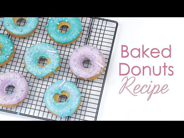 Easy Baked Donut (Doughnut) Recipe