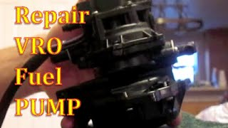 How To Repair Fuel Pump VRO Johnson Evinrude Outboard Motor Change Diaphragm(, 2015-11-06T00:43:04.000Z)