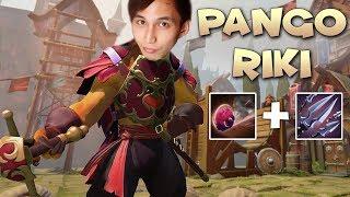 PANGOLIER & RIKI COMBO (SingSing Dota 2 Highlights #1359)