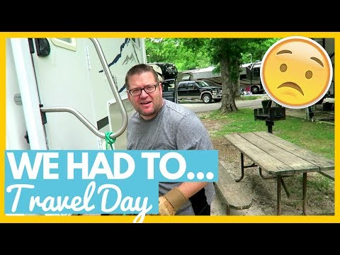 WE HAD TO GO BACK... 😦RV travel Day to Myrtle Beach, SC 🚌Full Time RV Living