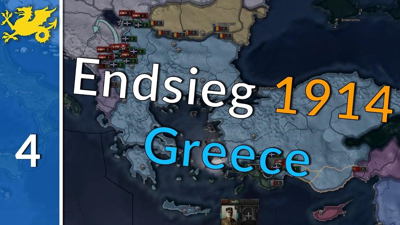 HOI4 Endsieg 1914 Greece - Restoring Byzantium [4] - Addaway