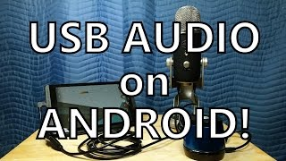 Video USB Audio FINALLY Works on Android! (Recording Test - Shield Tablet Running Lollipop) download MP3, 3GP, MP4, WEBM, AVI, FLV Juli 2018