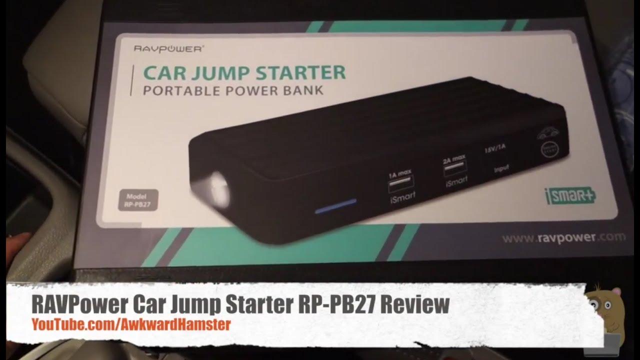 Car Jump Starter Ravpower Review