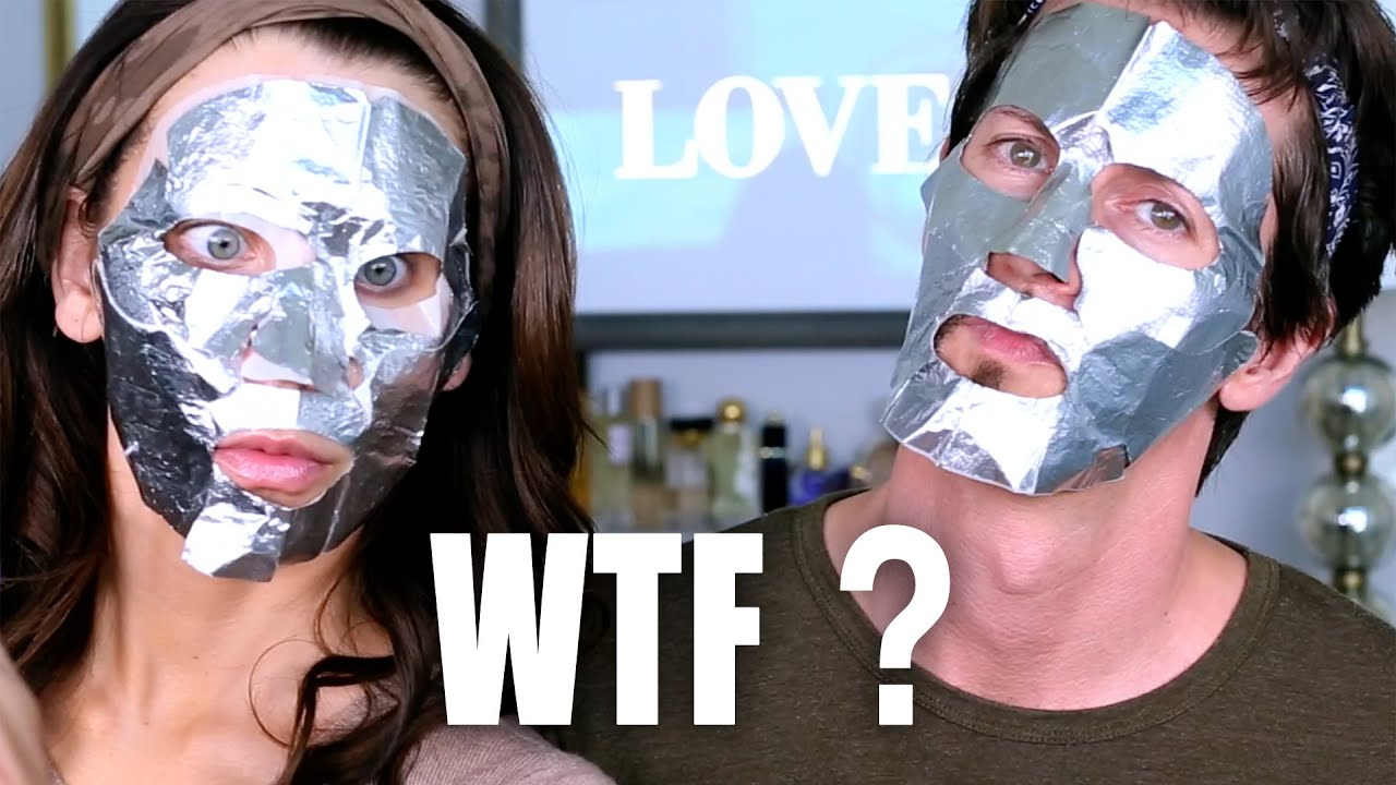 80 Foil Face Mask Wtf Tati Glamlifeguru Youtube