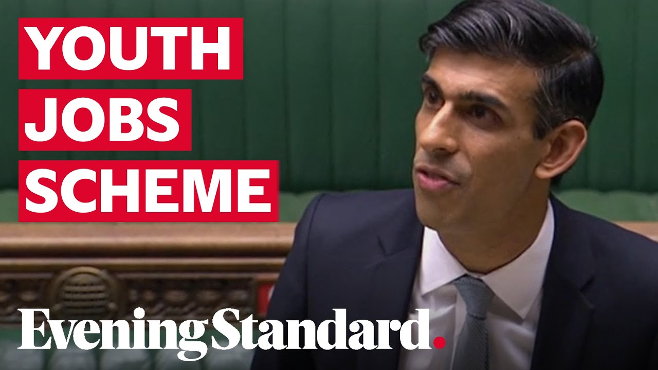 Kickstart scheme: Government to pay six months' wages for new starters aged 16-24, says Rishi Sunak