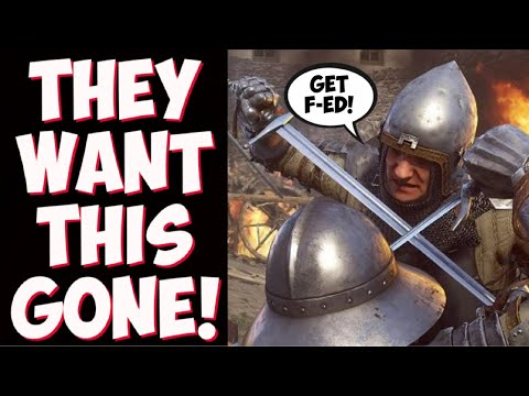 Nintendo MUST ban this?! NPC are CRYING over Kingdom Come: Deliverance switch port! GET OVER IT! |