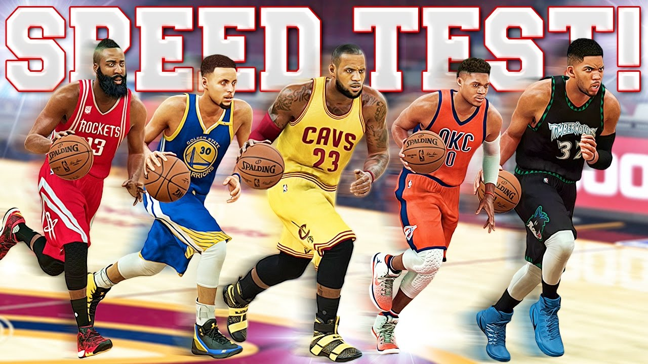 Who Is The FASTEST Player In NBA 2K? - OFFICIAL NBA 2K SPEED TEST!