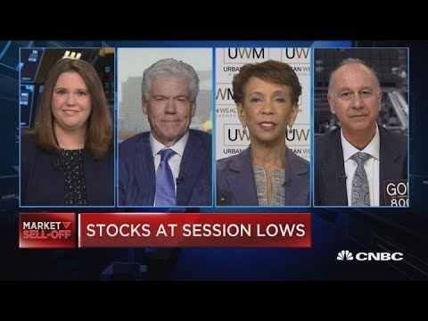 Closing Bell Exchange: Stocks at session lows ahead of earnings after the close